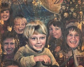 Christmasland - Joe Hill - NOS4A2 - Wraith - Art Print
