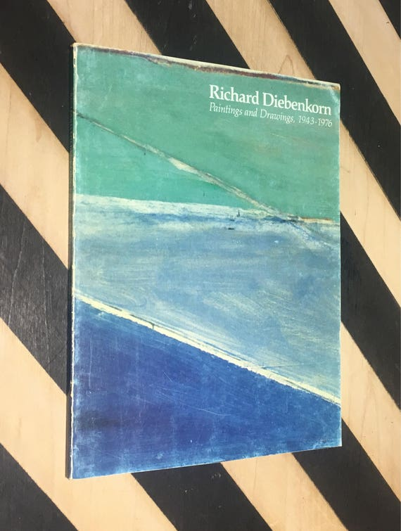 Richard Diebenkorn: Paintings and Drawings, 1943-1976 (1976) softcover book