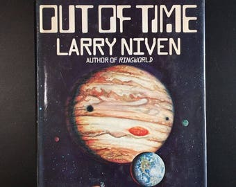 A World out of Time, Larry Niven, Book Club Ed. w/ D/J, 1976