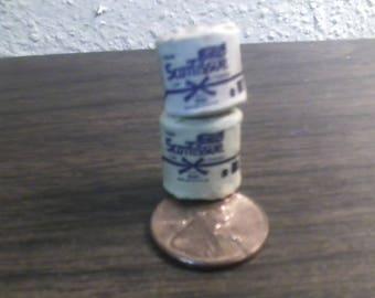 12th scale miniature tolet paper