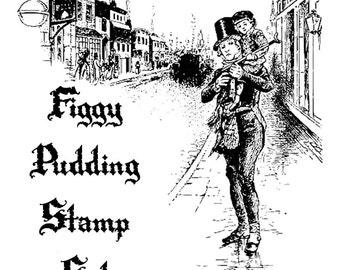 Figgy Pudding Digital Stamp Set