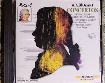 "W.A. Mozart ""CONCERTOS"" CD"