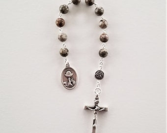 Ocean Jasper First Communion Chaplet
