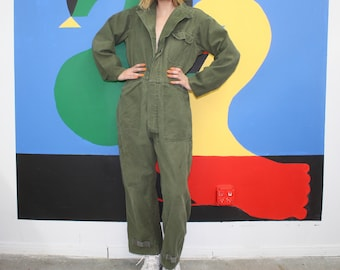 Army Green Coverall Jumpsuit