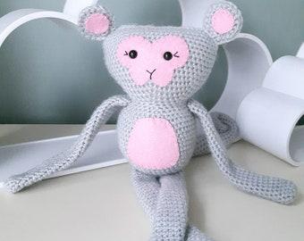 Amigurumi Pattern Crochet Monkey