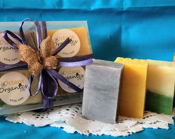 Classic Soap Gift Set, Classic Soap Gift Set, Spa Gift Set, Bath Gift Set, Natural Soap Gift, Organic Soap Gift Set, Soap Gift Set, Gift