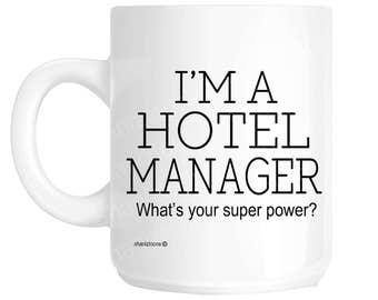 Hotel Manager Gift Mug shan1158