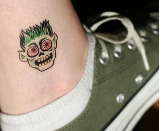 Ghoul & Monster Temporary Tattoos