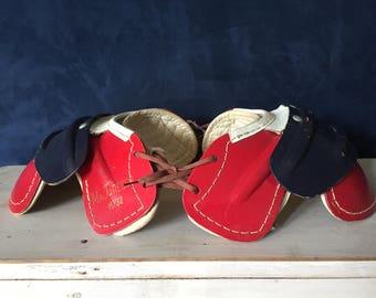 Vintage youth football pads shoulder macgregor sportswear team sports