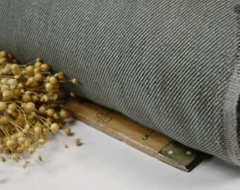 Tejido de Lino gris-mirada pesada densa de tejido sedoso lujo densa gruesa ropa ropa para colchas, edredones