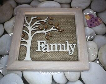 Family Tree Box Frame