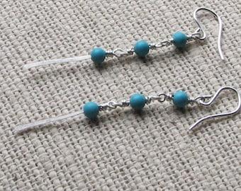 Turquesa Gitana Earrings (Gypsy Turquoise)