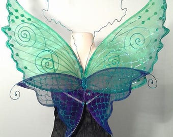 Mermaid Water Nymph Faerie Wings for Adults