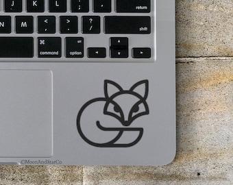Fox                  , Laptop Stickers, Laptop Decal, Macbook Decal, Car Decal, Vinyl Decal