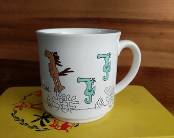 "Vintage Sandra Boynton ""For Someone Special"" Seahorses and Horse Mug"
