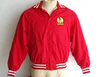 Vintage zett baseball gear varsity jacket size L w0K0nwS
