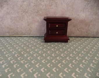 1:12 scale Dollhouse Miniature Cherry Night stand
