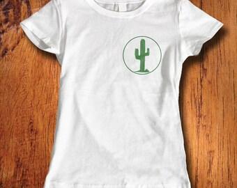 Womens Tshirt, Cactus Tshirt, cactus shirt, plant shirt, desert shirt, shirt with cactus, for her, christmas gift, stocking stuffer