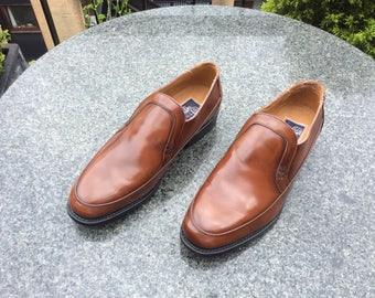 Vintage Sterling & Hunt, Chestnut Brown leather shoes, UK Size 8.5