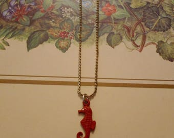 Vintage SeaHorse Pendant Necklace