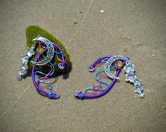 Cherry Blossom Fairy Ear Cuffs
