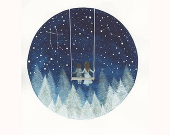 A view of the Cosmos /// Fine Art Print // Elise Mahan