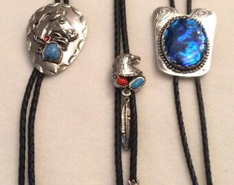 Cowboy,Western  Jewelry,Western Necklace,Cowboy ecklace,Cowboy Jewelry,Eagle,Horse Head, Blue Stone