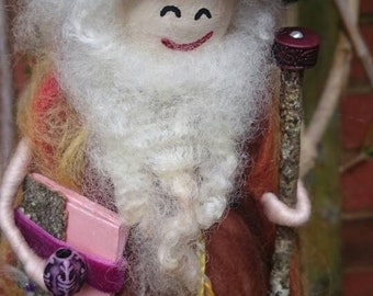 Wool Felt Wizard - Charles