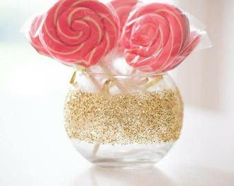 Baby Shower Decorations, Bridal Shower Decorations, Girl Birthday Party Decor, Dessert Table Decor, Candy Table Wedding, Glitter Vase