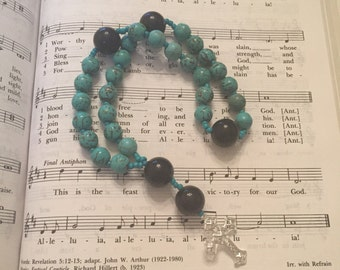 Anglican Rosary (Turquoise)