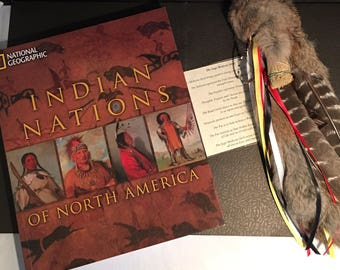 National Geographic Indian nations with sage medicine stick