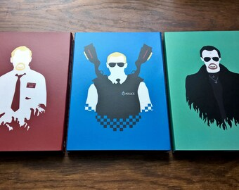 Cornetto Trilogy DVD Slipcases