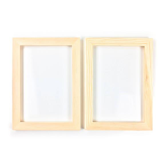 8x12 Bulk Unfinished Wood Frames 8x12 Open Frames