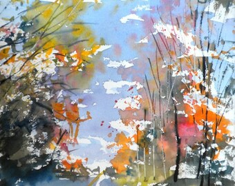 New England Fall-Scape No.7,  limited edition of 50 fine art giclee prints