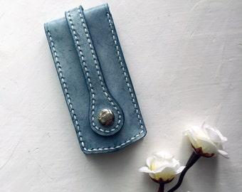 Personalized Key-holder / Leather Key-holder / Handmade Key-holder / Unique gift / Brown Key-holder / Gift Idea