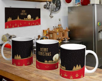 Christmas Digital Template Mug 1
