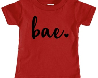 Bae Toddler T-shirt (Red)