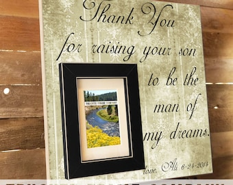 Mother of the Groom, Mother In Law Gift, Wedding Gift Parents, Parents Thank You Gift, Gift for In Laws, Personalized Frame, In Laws Gift
