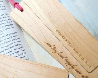10 - Wedding Bookmarks - Custom Bookmarks