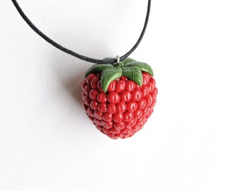 Raspberry Necklace - Gifts for her