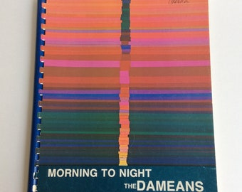 Vintage Music Book, Morning to Night. The Dameans. Guitar, Signed