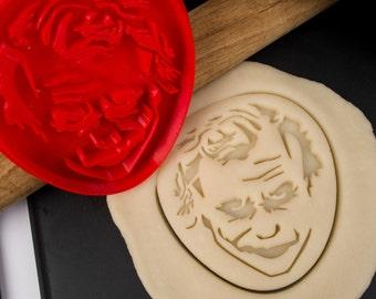 Batman Joker cookie cutter - Heath Ledger
