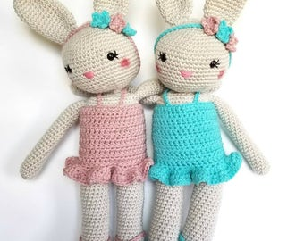 Easter gift etsy ballerina bunny ballet recital gift easter gift handmade toy natural toy negle Image collections