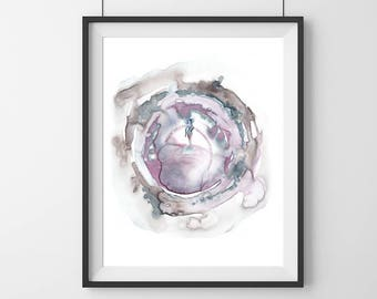 Modern art abstract - Goddess - Modern art  - feminine empowerment