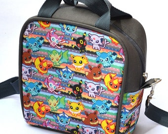 Eeveelutions lunch box / lunch bag