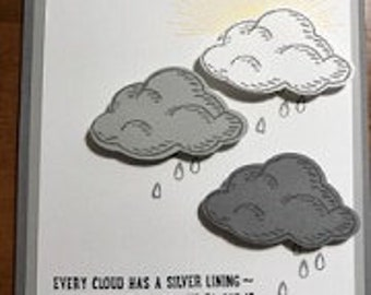 Every Cloud Has a Silver..... Greeting Card