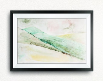 Wall Art Print, Home Decor, Large Abstract Painting, Digital download, Watercolor Print, Digital Print, Printable Art, Abstract Art Print