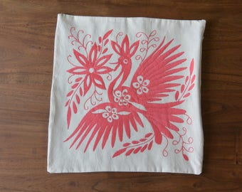 Cushion Cover - Otomi - Mexican Texile - One of a kind, unique piece!