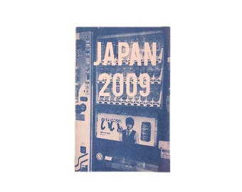 JAPAN 2009 - risograph travel photo zine