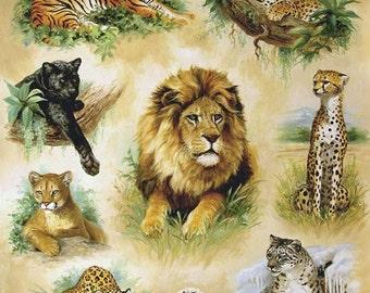 Cross stitch cat - Cross stitch pattern - Lion, pantera, jaguar, tiger - Cross stitch animal - Wildlife cross stitch design - Printable PDF
